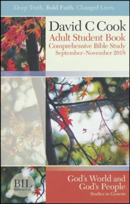 Bible-in-Life: Adult Student Book, Fall 2018  -