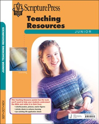 Scripture Press: Junior Grades 5-6 Teaching Resources, Fall 2018  -