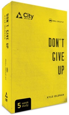 Don't Give Up-DVD Small Group Kit  -     By: Kyle Idleman