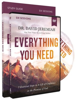 Everything You Need Study Guide With DVD: 7 Essential Steps  to A Life of Confidence in the Promises of God  -     By: David Jeremiah
