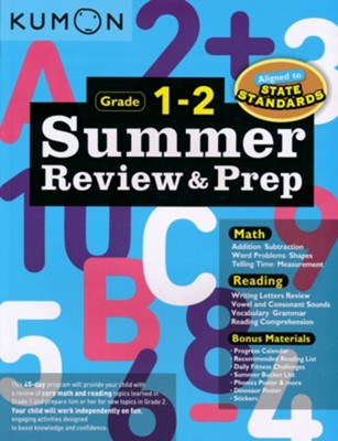 Summer Review & Prep, Grade 1-2   -