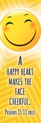 A Happy Heart (Proverbs 15:13, NIV) Bookmarks, 25  -