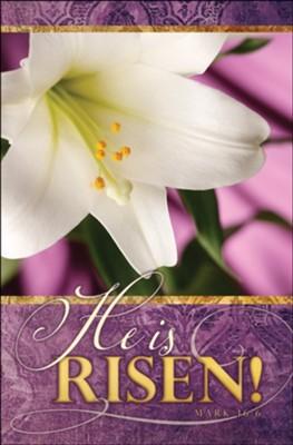KJV Easter Bulletin Jesus Package of 100