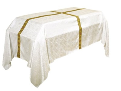 Avignon Funeral Pall, Ivory (72 inches x 120 inches)  -