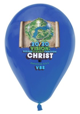 20/20 Vision: Balloons (pkg. of 12)  -     By: 20 20 Vision