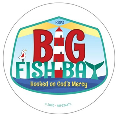 Big Fish Bay: Logo Stickers (pkg. of 50)  -     By: Big Fish Bay
