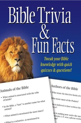 Bible Trivia and Fun Facts  -
