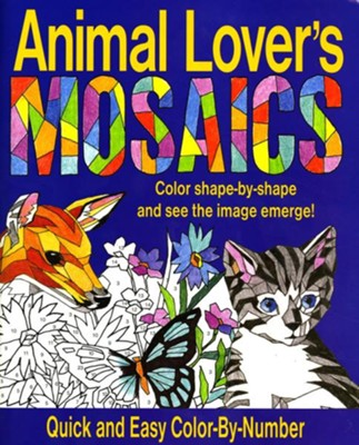 Animal Lover's Mosaics Book  -