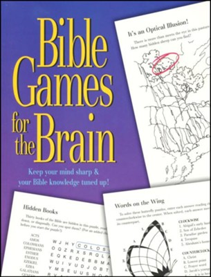 Bible Games for the Brain Book  -