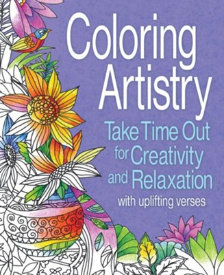 Coloring Artistry Coloring Book  -