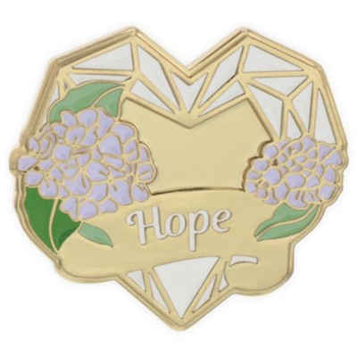 Hope, Heart, Lapel Pin  -     By: Heart of Angelstar