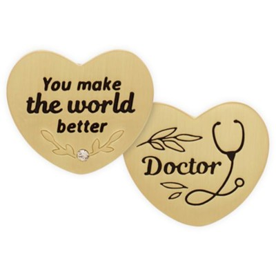 Doctor, Heart, Pocket Token  -     By: Heart of Angelstar
