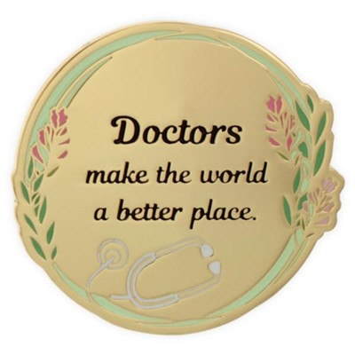 Doctors Make the World A Better Place Visor Clip  -     By: Heart of Angelstar