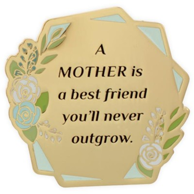 A Mother Is A Best Friend You'll Never Outgrow Visor Clip  -     By: Heart of Angelstar
