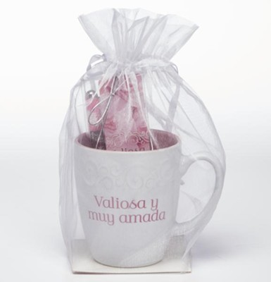 Precious and Dearly Loved, Mug, Pen and Bookmark Gift Set, Spanish  -