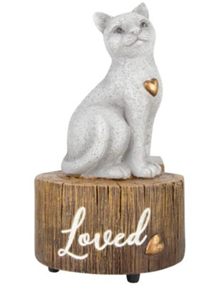 Cat, Loved, Musical Figurine, My Favorite Things  -