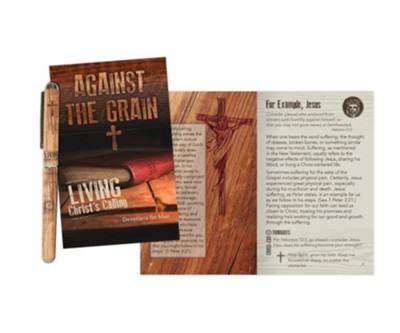 Against the Grain Pen and Softcover Devotion Book Gift Set  -