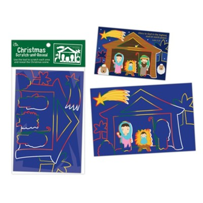 All Aboard for Christmas Scratch & Reveal Nativity  -