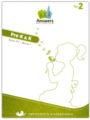 Answers Bible Curriculum, Year 2, Quarter 1 Pre-K & K Teacher Kit with Student Sheets  -     By: Answers in Genesis