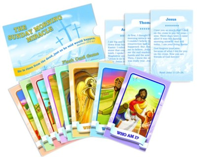 Resurrection Characters Flash Card Game  -