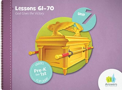 Answers Bible Curriculum PreK-1 Unit 7 Flip Chart (2nd Edition)  -