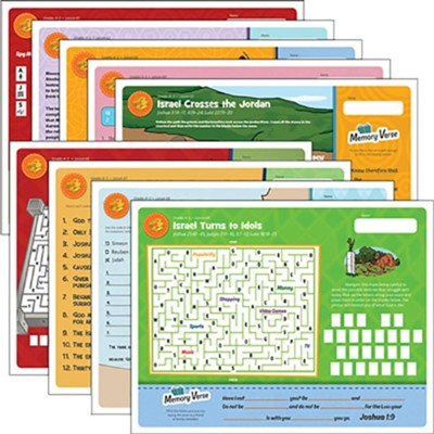 Answers Bible Curriculum Grades 4-5 Unit 7 Take Home Sheets (1 Pack; 2nd Edition)  -
