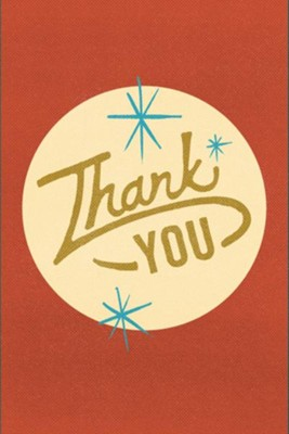 Thank You (Pack of 25 Tracts)  -