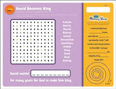 Answers Bible Curriculum Grades 4-5 Unit 9 Take Home Sheets (1 Pack; 2nd Edition)  -