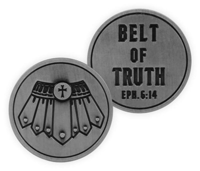 Belt of Truth, Armor Of the Lord Pocket Token  -