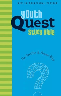 NIV Youth Quest Study Bible: The Question and Answer Bible - eBook  -