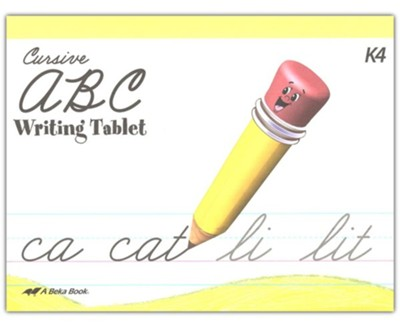 ABC Writing Tablet (Unbound Cursive Edition)   -