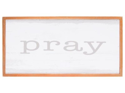 Pray Wall Decor  -