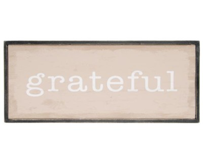 Grateful Wall Decor  -