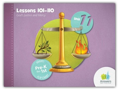 Answers Bible Curriculum PreK-1 Unit 11 Flip Chart (2nd Edition)  -