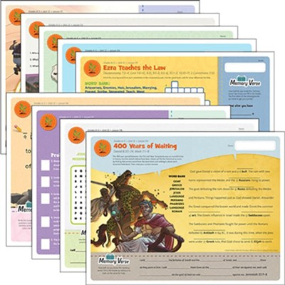 Answers Bible Curriculum Grades 4-5 Unit 12 Take Home Sheets (1 Pack; 2nd Edition)  -