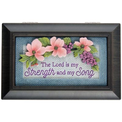 The Lord is My Strength and My Song Music Box, Amazing Grace  -