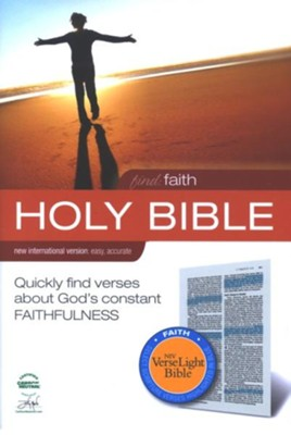Find Faith: NIV VerseLight Bible: Quickly Find Verses about God's Constant Faithfulness - eBook  -