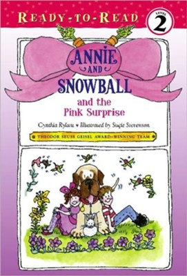 Annie and Snowball and the Pink Surprise - eBook  -     By: Cynthia Rylant