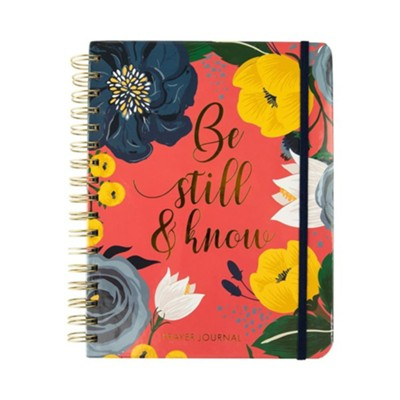 Be Still & Know, Prayer Journal  -