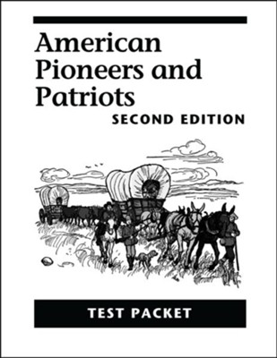American Pioneers and Patriots Test Packet, 2nd Edition, Grade 3    -     By: Caroline D. Emerson