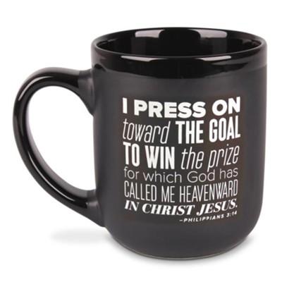 Press On Mug, Philippians 3:14   -