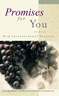 Promises for You: from the New International Version / Special edition - eBook  -