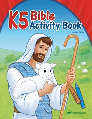K5 Bible Activity Book (Unbound Edition)   -