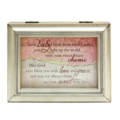 Baby Girl Music Box  -