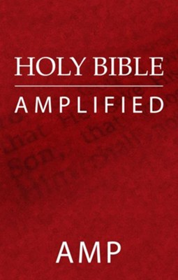 Holy Bible: Amplified - eBook  -