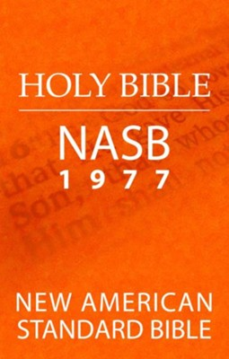 Holy Bible: New American Standard Bible (NASB 1977 Edition) - eBook  -     By: The Lockman Foundation