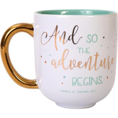And So The Adventure Begins Mug  -