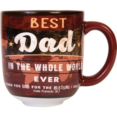 Best Dad In the Whole World Mug  -