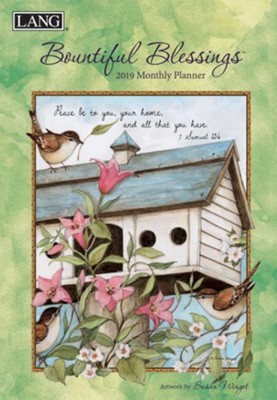 2019 Bountiful Blessings Monthly Planner  -