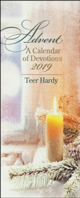 Advent: A Calendar of Devotions 2019, Pack of 10  -     By: Teer Hardy